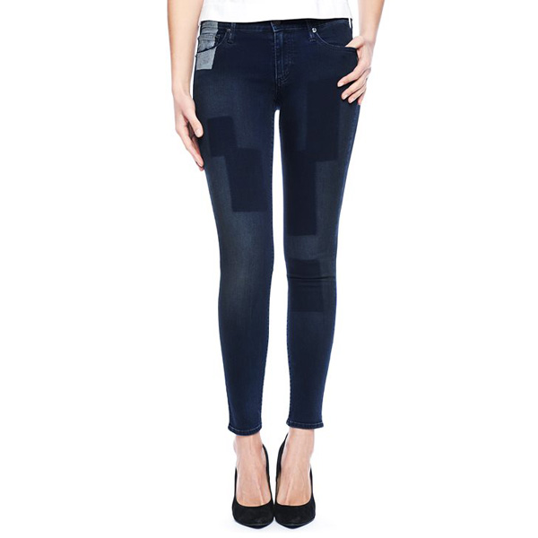 TRUE RELIGION EUROPEAN CASEY SUPER SKINNY PATCH WOMENS JEAN