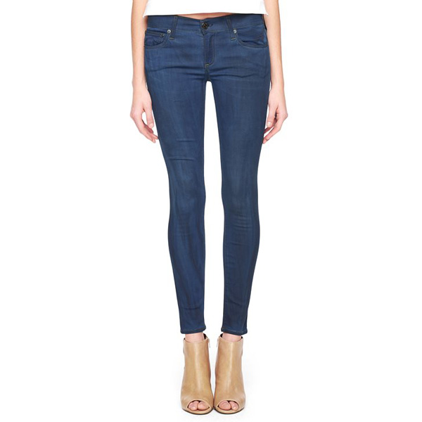 TRUE RELIGION EUROPEAN CASEY LOW RISE SUPER SKINNY WOMENS JEAN