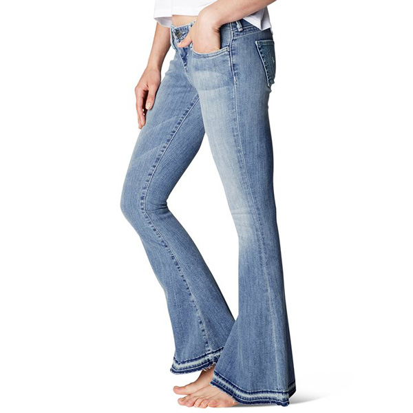 TRUE RELIGION CHARLIE FLARE PETITE WOMENS JEAN