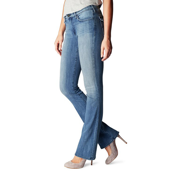 TRUE RELIGION BECCA MID RISE BOOTCUT WOMENS JEAN