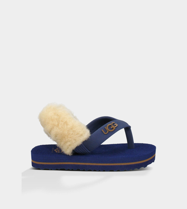 UGG INFANTS YIA YIA MEDIEVAL BLUE/CHESTNUT