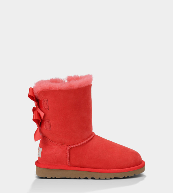 UGG KIDS BAILEY BOW HIBISCUS