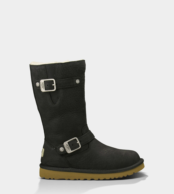 UGG KIDS KENSINGTON BLACK
