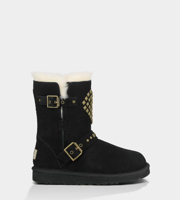 UGG TODDLERS ADRIANNA BLACK