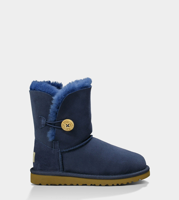 UGG TODDLERS BAILEY BUTTON NAVY BLUE