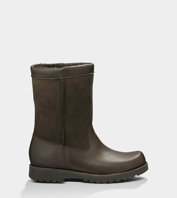 UGG TODDLERS RIVERTON CHOCOLATE/CHOCOLATE