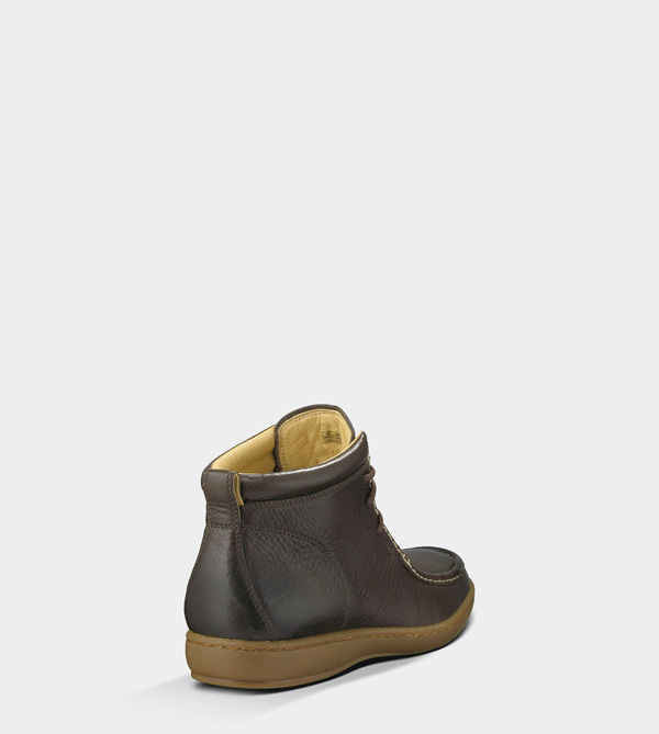 UGG MENS AMEHEURST - LEATHER GRIZZLY
