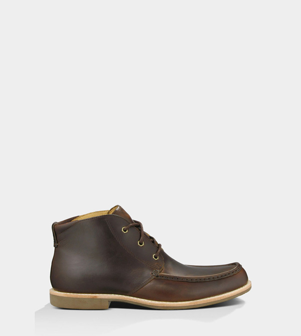 UGG MENS VIA LUNGARNO - LEATHER STOUT