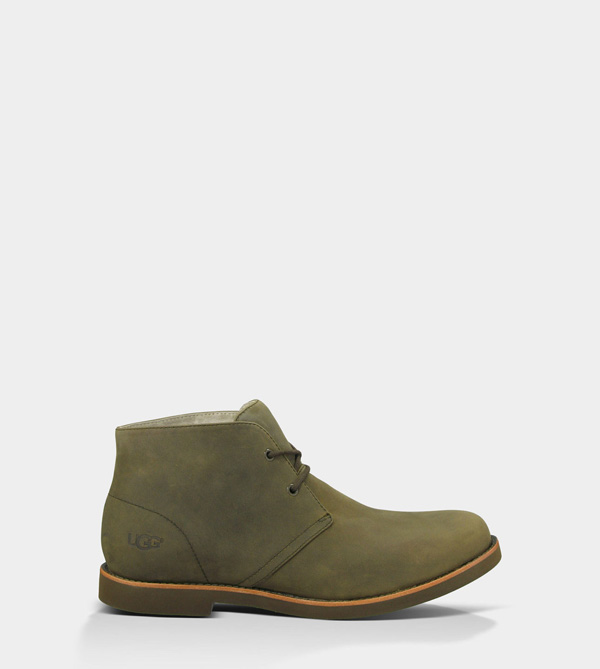 UGG MENS WESTLY - NUBUCK BURNT OLIVE
