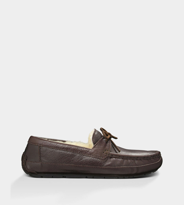 UGG MENS BYRON CHOCOLATE LEATHER