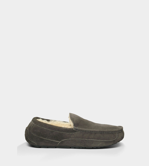 UGG MENS ASCOT - SUEDE CHARCOAL