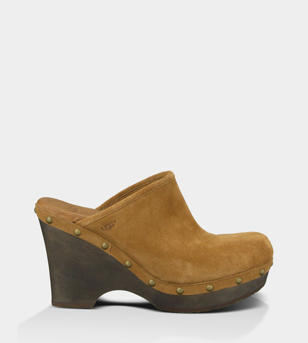 UGG WOMENS MARSALIS DARK CHESTNUT