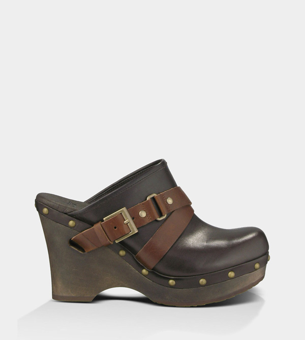 UGG WOMENS NATALEE CHOCOLATE