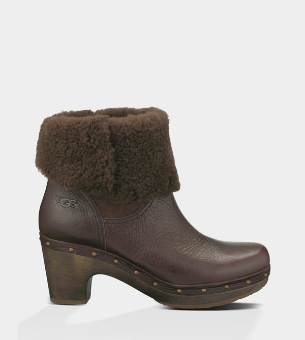 UGG WOMENS AMORET - LEATHER JAVA