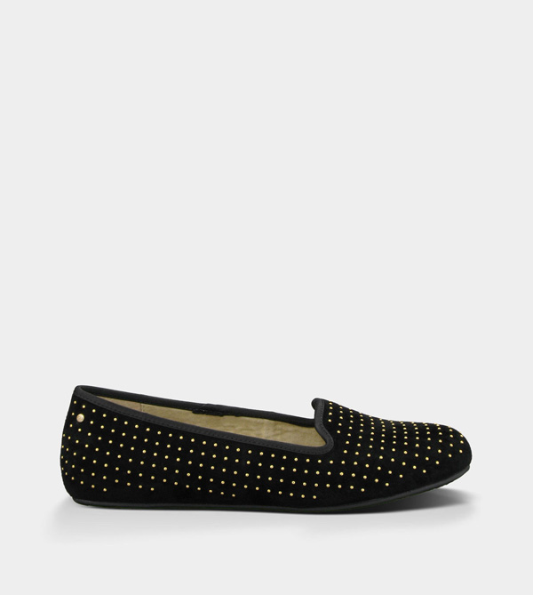 UGG WOMENS ALLOWAY STUDDED BLACK