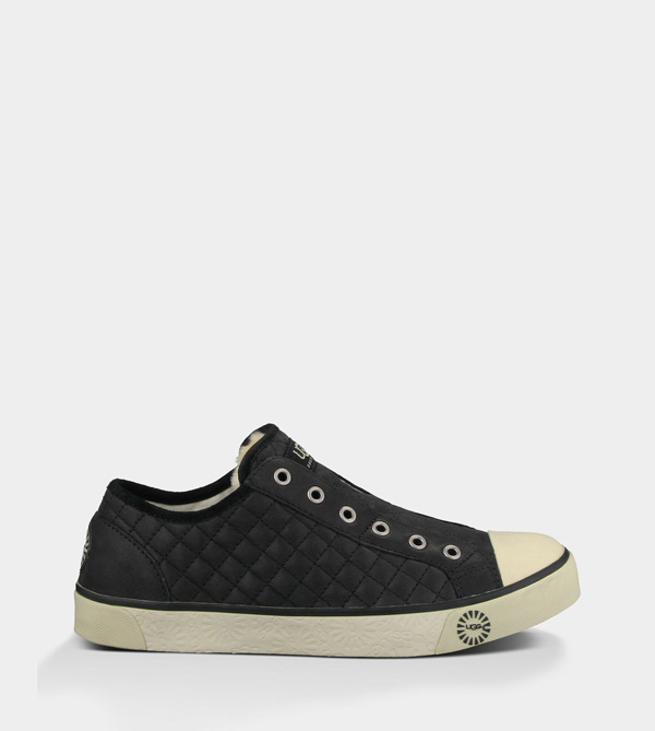 UGG WOMENS LAELA QUILTED BLACK