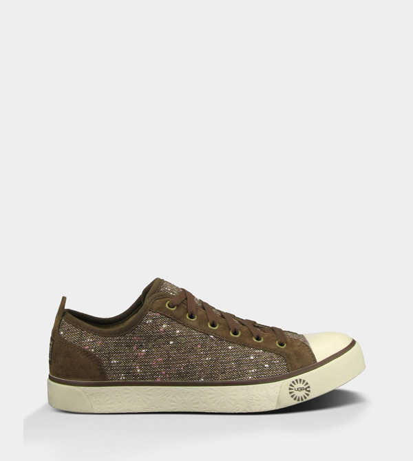 UGG WOMENS EVERA TWEED CHOCOLATE