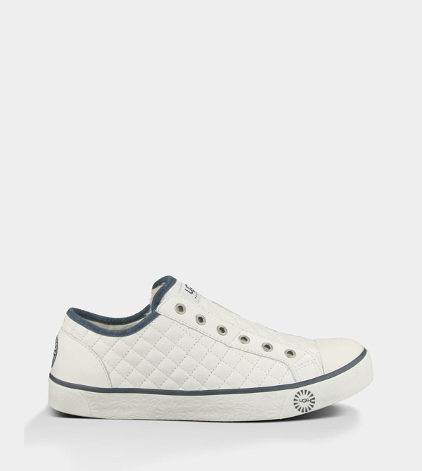 UGG WOMENS LAELA QUILTED WHITE