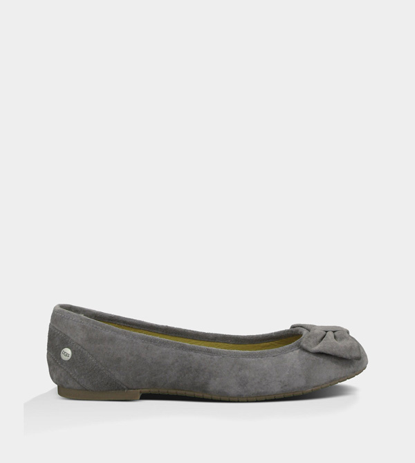 UGG WOMENS ROHEN CHARCOAL