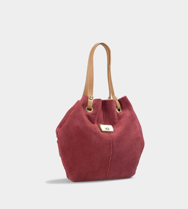 UGG WOMENS JANE TOTE RED LIGHT