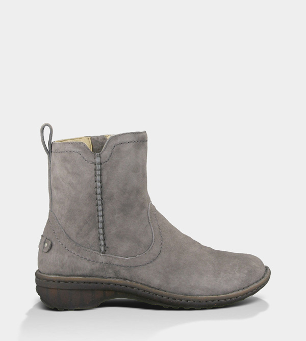 UGG WOMENS NEEVAH - SUEDE CHARCOAL