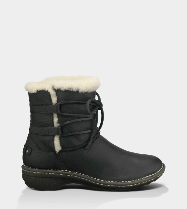 UGG WOMENS RIANNE BLACK