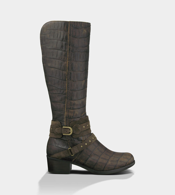 UGG WOMENS ESPLANADE CROCO JAVA
