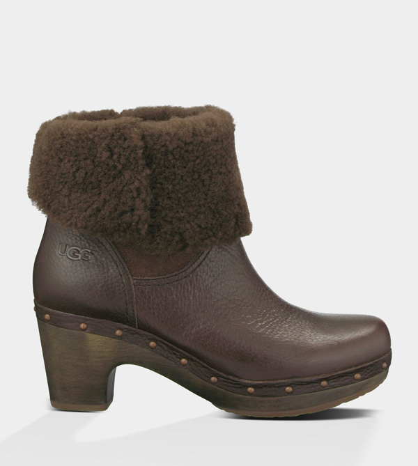 UGG WOMENS AMORET - LEATHER AVA