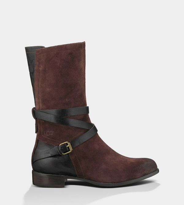 UGG WOMENS DEANNA DEEP BORDEAUX