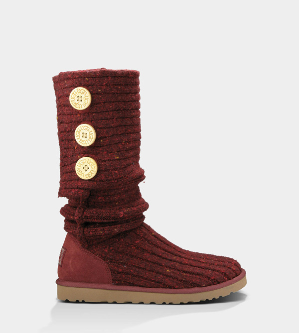 UGG WOMENS CLASSIC CARDY SANGRIA MULTI