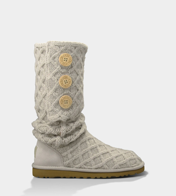 UGG WOMENS LATTICE CARDY SAND