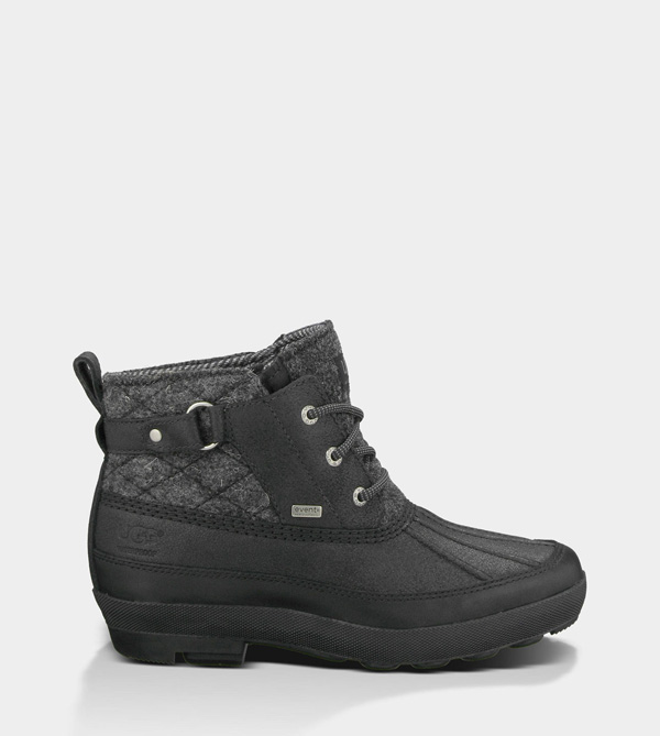 UGG WOMENS LINA BLACK