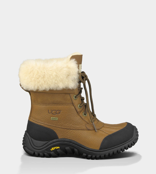 UGG WOMENS ADIRONDACK BOOT II - LEATHER OTTER