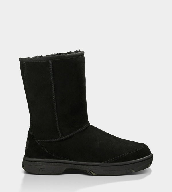 UGG WOMENS ULTIMATE SHORT BLACK