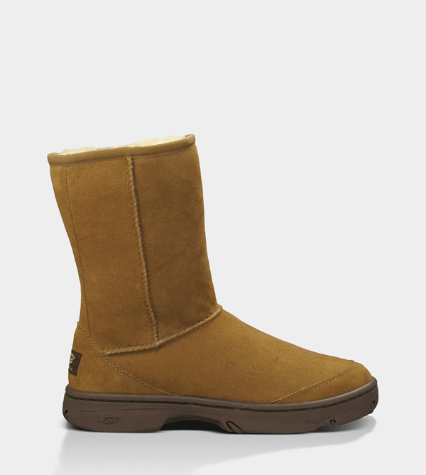 UGG WOMENS ULTIMATE SHORT CHESTNUT