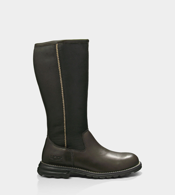 UGG WOMENS BROOKS TALL BROWN