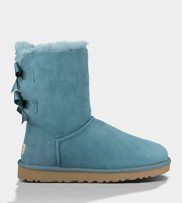UGG WOMENS BAILEY BOW EVERGLADE