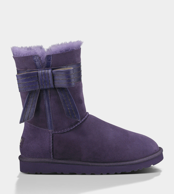 UGG WOMENS JOSETTE PURPLE VELVET
