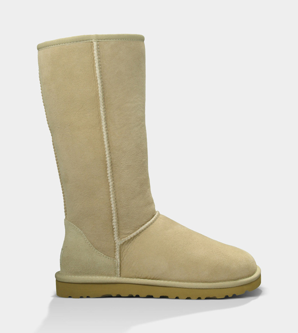 UGG WOMENS CLASSIC TALL SAND