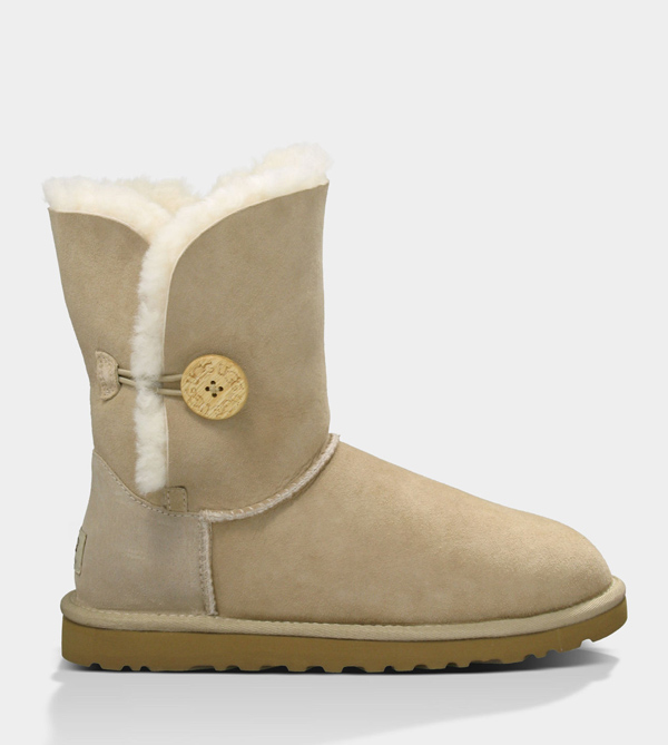 UGG WOMENS BAILEY BUTTON SAND