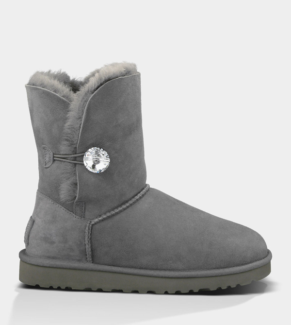 UGG WOMENS BAILEY BLING GREY