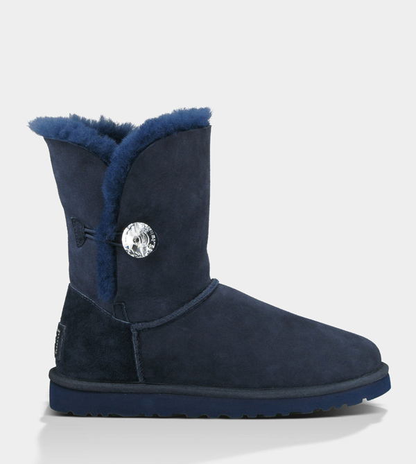 UGG WOMENS BAILEY BLING NAVY