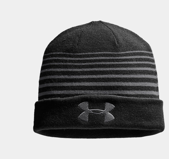 UNDER ARMOUR MEN SWITCH IT UP REVERSIBLE BEANIE GRAPHITE