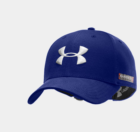 UNDER ARMOUR MEN CHARGED COTTON ADJUSTABLE CAP ROYAL