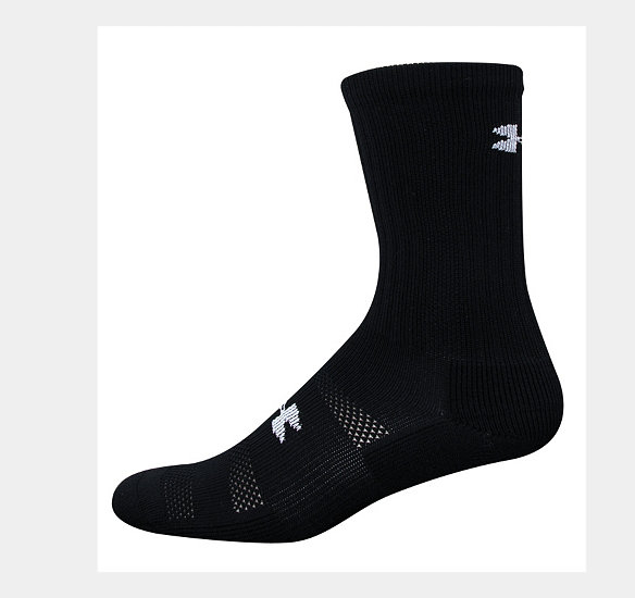 UNDER ARMOUR MEN ALLSPORT CREW SOCK BLACK
