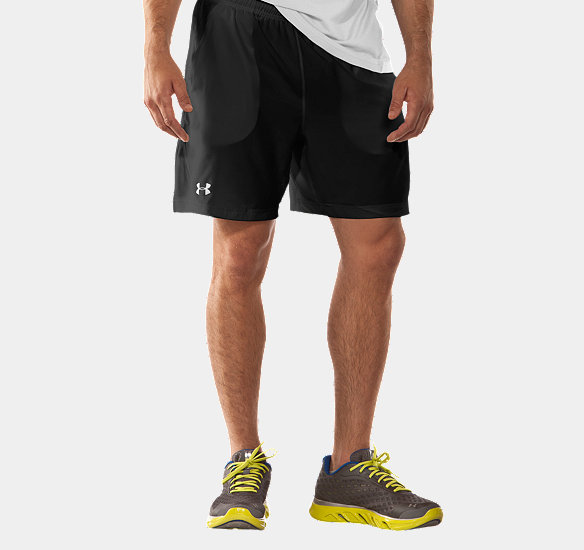 UNDER ARMOUR MEN CLASSIC WOVEN SHORT BLACK