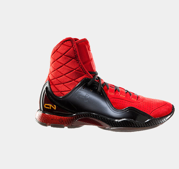 UNDER ARMOUR MEN CAM HIGHLIGHT TRAINING SHOES RED