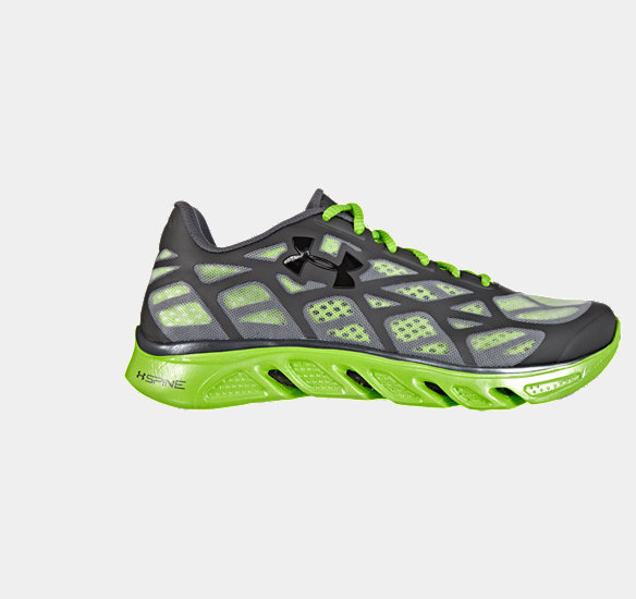 UNDER ARMOUR MEN SPINE VICE RUNNING SHOES CHARCOAL