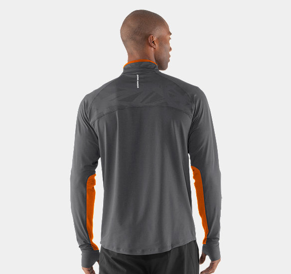 UNDER ARMOUR MEN IMMINENT RUN  ZIP GRAPHITE