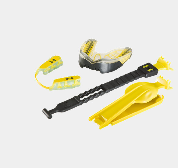 UNDER ARMOUR ARMOURBITE MOUTHWEAR PERFORMANCE PACK CLEAR